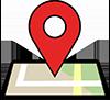Map Pin Bike For Mental Health