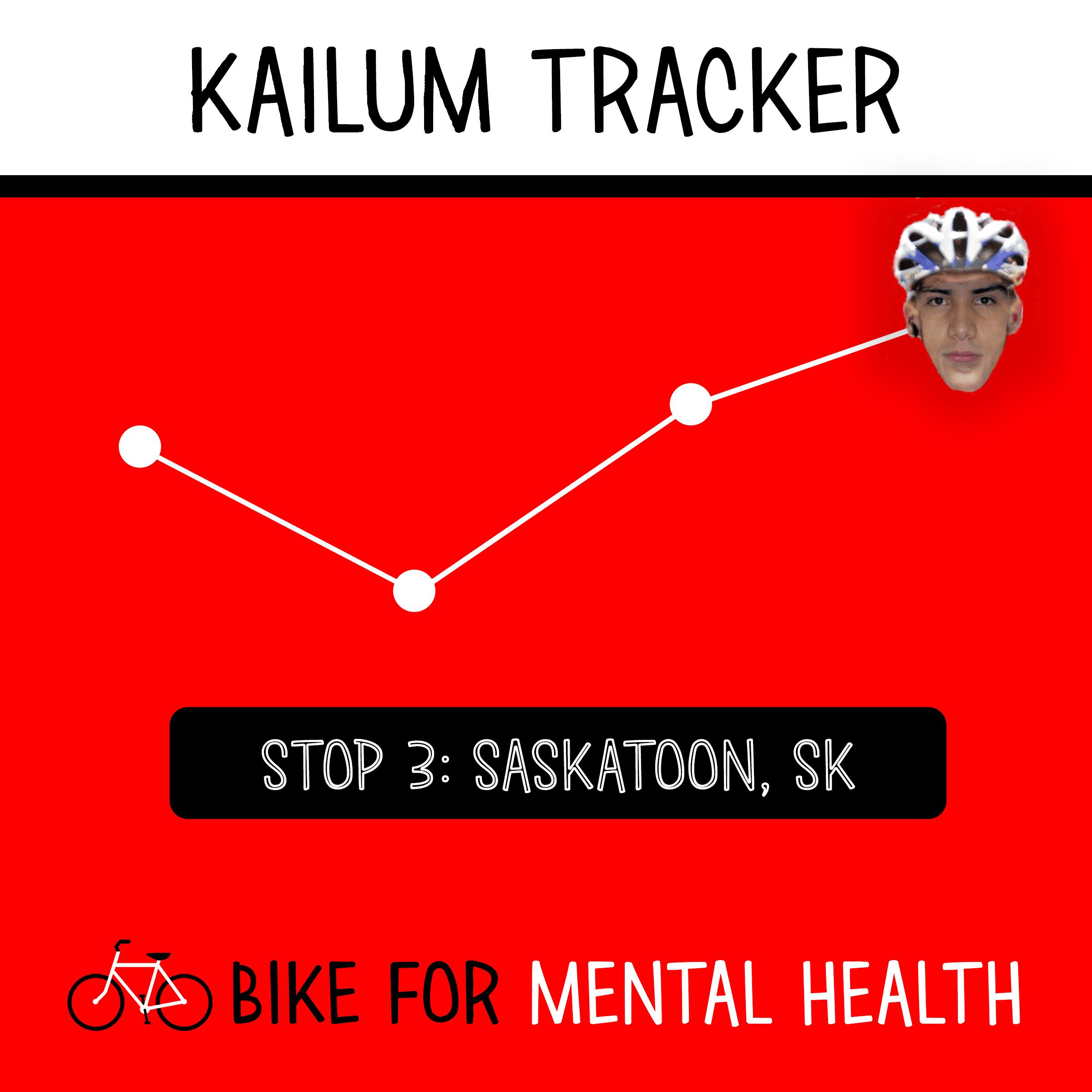 Kailum Gervais Bike Saskatoon