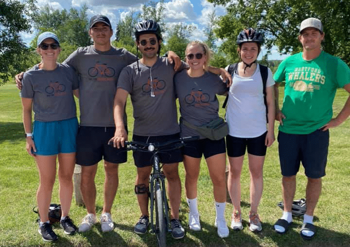 Bike For Mental Health Team